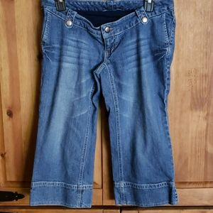 A Pea In The Pod Denim Capri Jeans